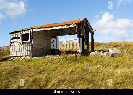 Isle of Lewis Shieling - Stock Photo