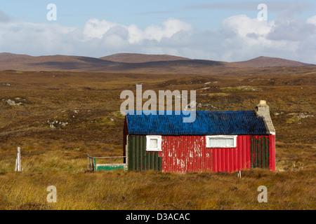 Isle of Lewis Shieling - Stock Photo