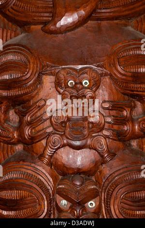 Waitangi North Island New Zealand travel tourism - Stock Photo
