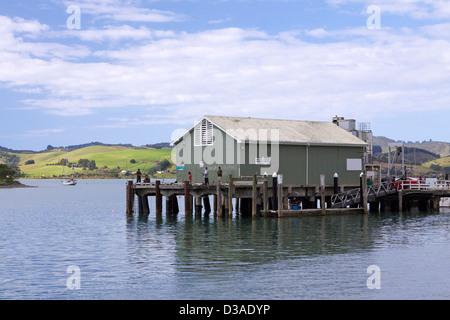 Mangonui North Island New Zealand travel - Stock Photo