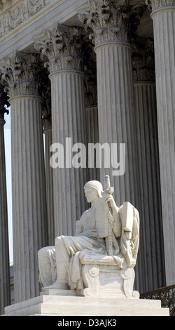 Supreme Court Washington DC, - Stock Photo