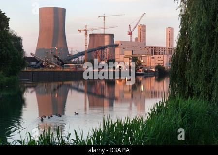 Hamm, Germany, Westfalen power plant - Stock Photo