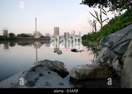 Hamm, Germany, Westfalen power plant - Stock Photo