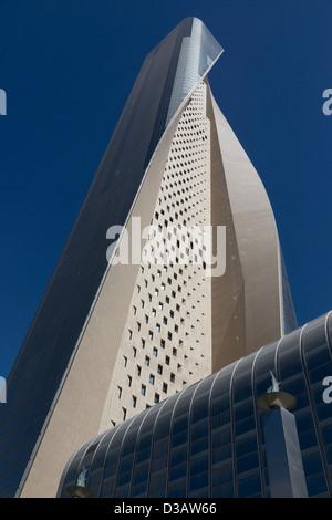 Al Hamra Tower, Kuwait City, Kuwait - Stock Photo