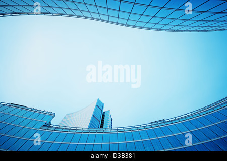 Palazzo Lombardia, Italy - Milan - Stock Photo