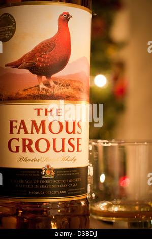 Famous Grouse whiskey - Stock Photo