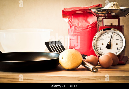 Retro baking - Stock Photo