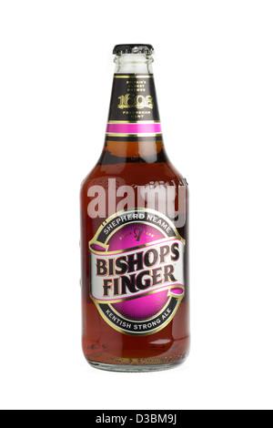 Bishops finger kentish ale - Stock Photo