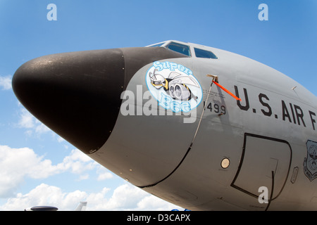 US Air Force KC-135 tanker aircraft - Stock Photo