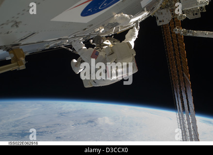 Earth From Space: An Astronaut's View (NASA, International Space Station Science, 02/11/10) - Stock Photo