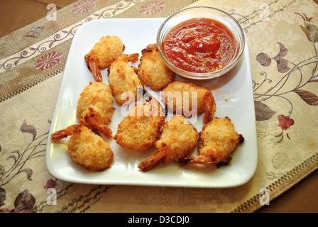 Shrimp Appetizers - Stock Photo