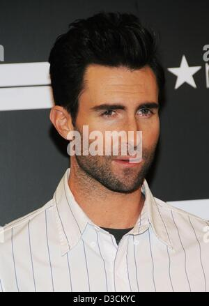 New York, USA. 15th February 2013. Adam Levine Signature Fragrance Launch at MACY'S, Macy's Herald Square Department - Stock Photo