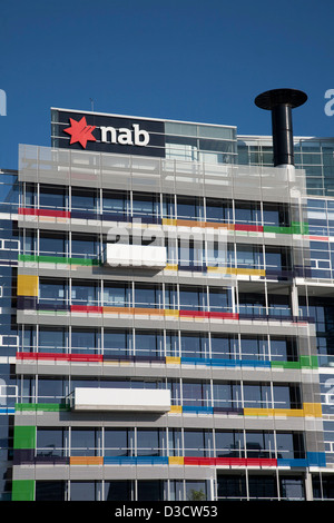 National Australia Bank The Docklands Melbourne Victoria Australia - Stock Photo