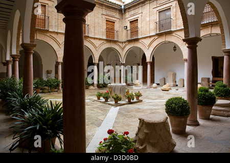 Municipal Museum Palacio de Najera Antequera Malaga Andalusia Spain - Stock Photo