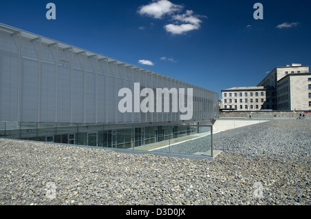 Berlin, Germany, documentation center Topography of Terror - Stock Photo