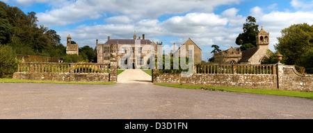 Brympton D'Evercy Manor House - Stock Photo