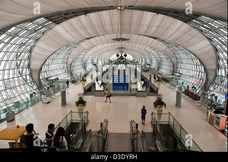 Bangkok, Thailand, Suvarnabhumi Airport - Stock Photo