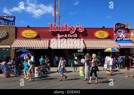 Coney Island Boardwalk Bar