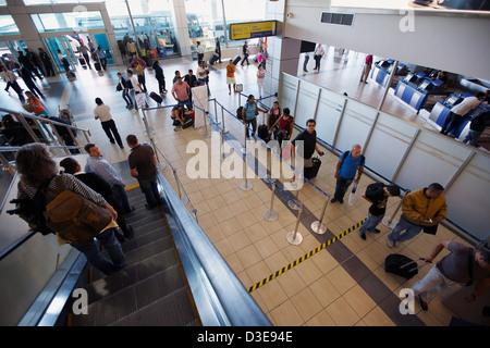 Terminal at Tocumen International Airport, Panama City, Panama - Stock Photo