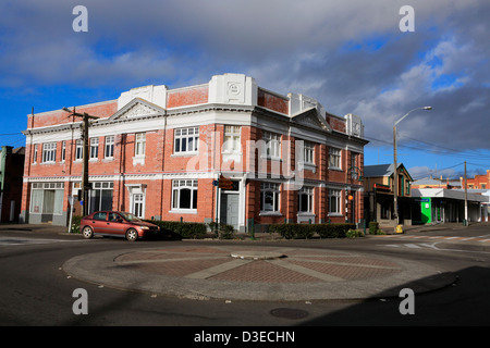 Old building in the main street of Marton - Stock Photo