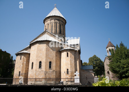 Sioni Cathedral in Tbilisi, Georgia. - Stock Photo
