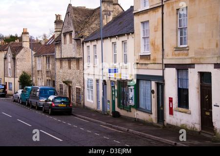 Maurdens Newsagents shop in Batheaston Somerset - Stock Photo