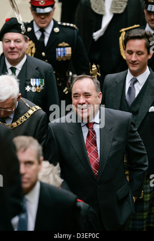 Scotland's First Minister, Alex Salmond attending The General Assembly of the Church of Scotland, 2007 - Stock Photo