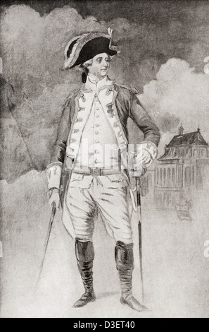 Count of Provence, future Louis XVIII, 1755 –1824, aka The Desired. Bourbon King of France and of Navarre. - Stock Photo