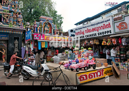 Alappuzha Alleppey  Kerala India Indian - Stock Photo