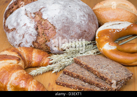 Marvelous Different Types Of Bakery Products Such A A Loarf Of Bread Short Hairstyles For Black Women Fulllsitofus