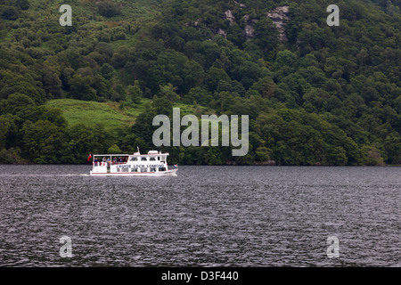 Cruse boat on Loch Lomond Scotland USA - Stock Photo