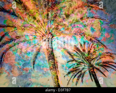 DIGITAL ART: Tropicana - Stock Photo
