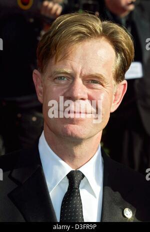 (dpa) - The US actor William H. Macy ('Jurassic Park III.', 'Magnolia', 'Benny & Joon') arrives at the Screen Actors - Stock Photo