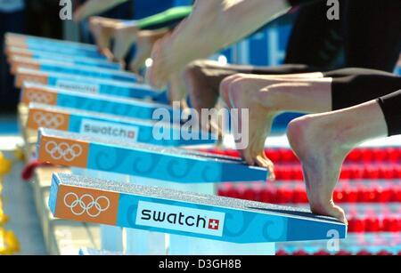 Olympic Swimming Starting Blocks