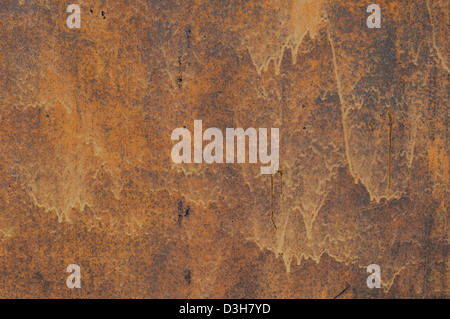 Abstract grunge rusty metal surface closeup background - Stock Photo