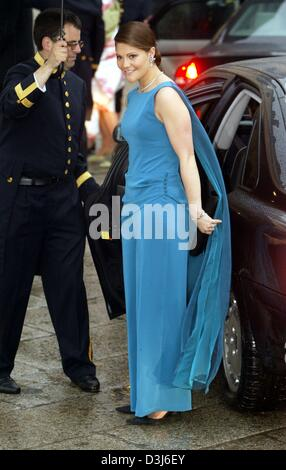Princess Letizia of Spain arrives for the wedding of Crown Princess ...