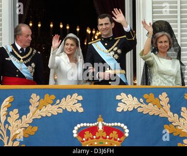 Dpa From L King Juan Carlos Of Spain Queen Sofia