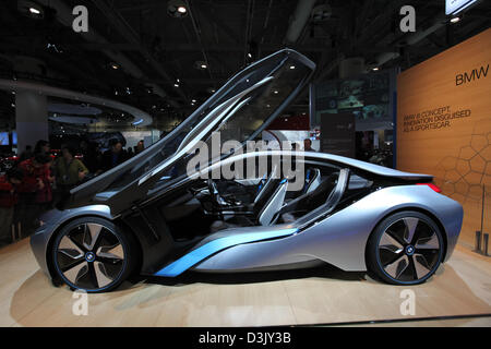 BMW Concept i8 - Stock Photo