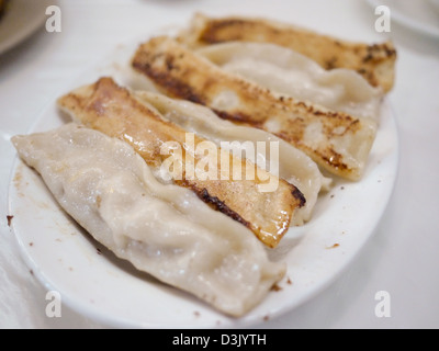 fried dumping northern chinese style - Stock Photo
