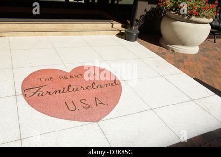 Attractive ... A Terrazzo On Main Street That Reads U0027The Heart Of Furnitureland USAu0027 ,  High