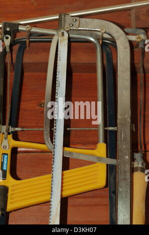 hand saw tools - Stock Photo