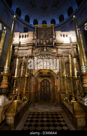 Church of the Holy Sepulchre - Jerusalem - Stock Photo