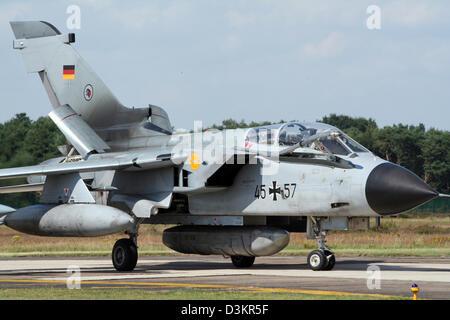 German Air Force Tornado fighter jet - Stock Photo