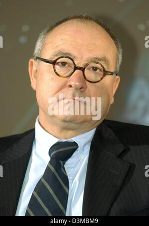 Jean-Jacques Dordain, director general of the European Space Agency ESA, pictured in Berlin, Thursday, 19 January - Stock Photo