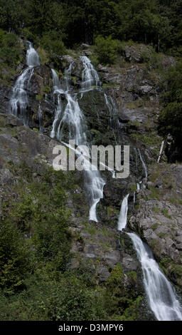 Todtnau Waterfall. - Stock Photo
