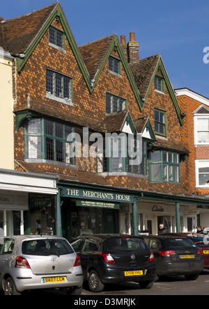 Marlborough is a small market town in the wiltshire countryside, England UK. - Stock Photo