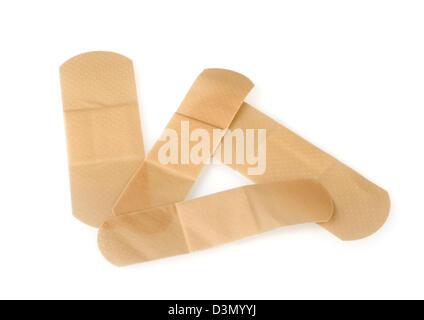 Generic brand waterproof Sticking Plasters - Stock Photo
