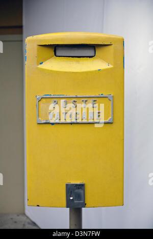 Vatican City, Vatican City, the Vatican post office mailbox - Stock Photo