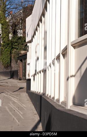 House, Heath Street, Hampstead, London, UK - Stock Photo