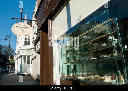Artisan Boulanger, Heath Street, Hampstead, London, UK - Stock Photo